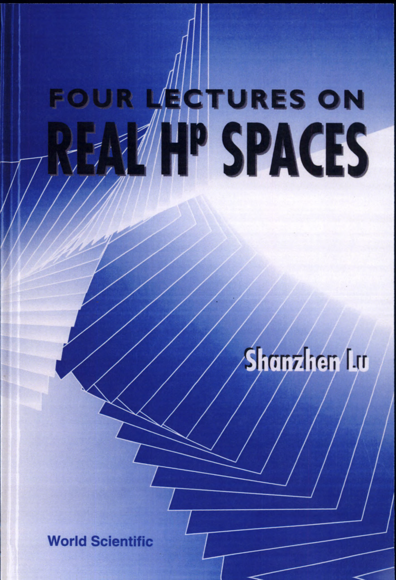 Four Lectures on Real Hp? Spaces